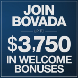 You have chance to get $3,750 Welcome Bonus